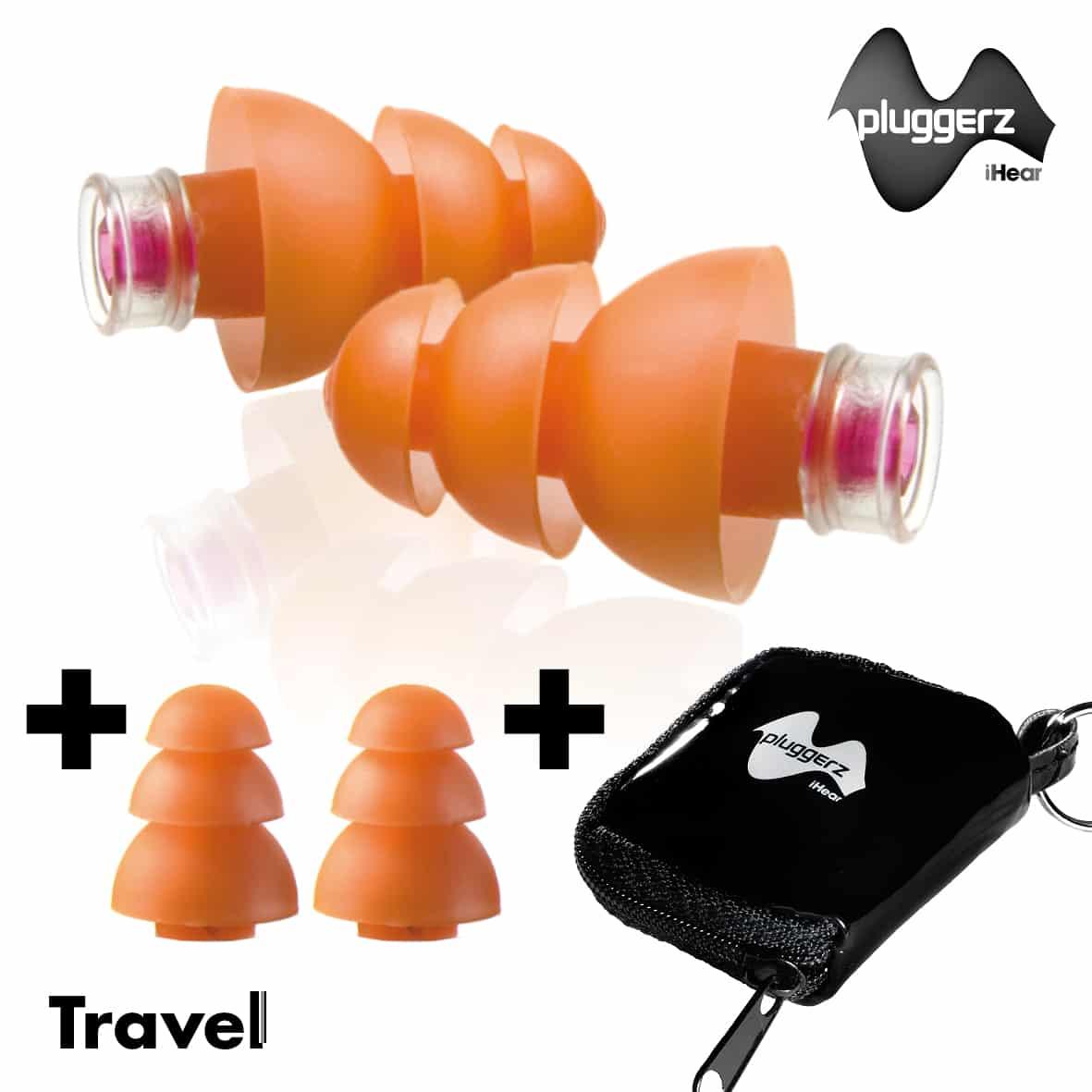 gehoorbescherming voor op reis